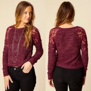 3/$30 Altar'd State Kellwood Sweater Top Size S